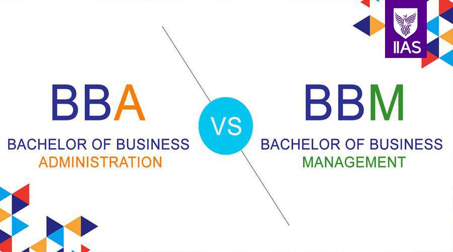 BBA vs BBM. What is the difference?